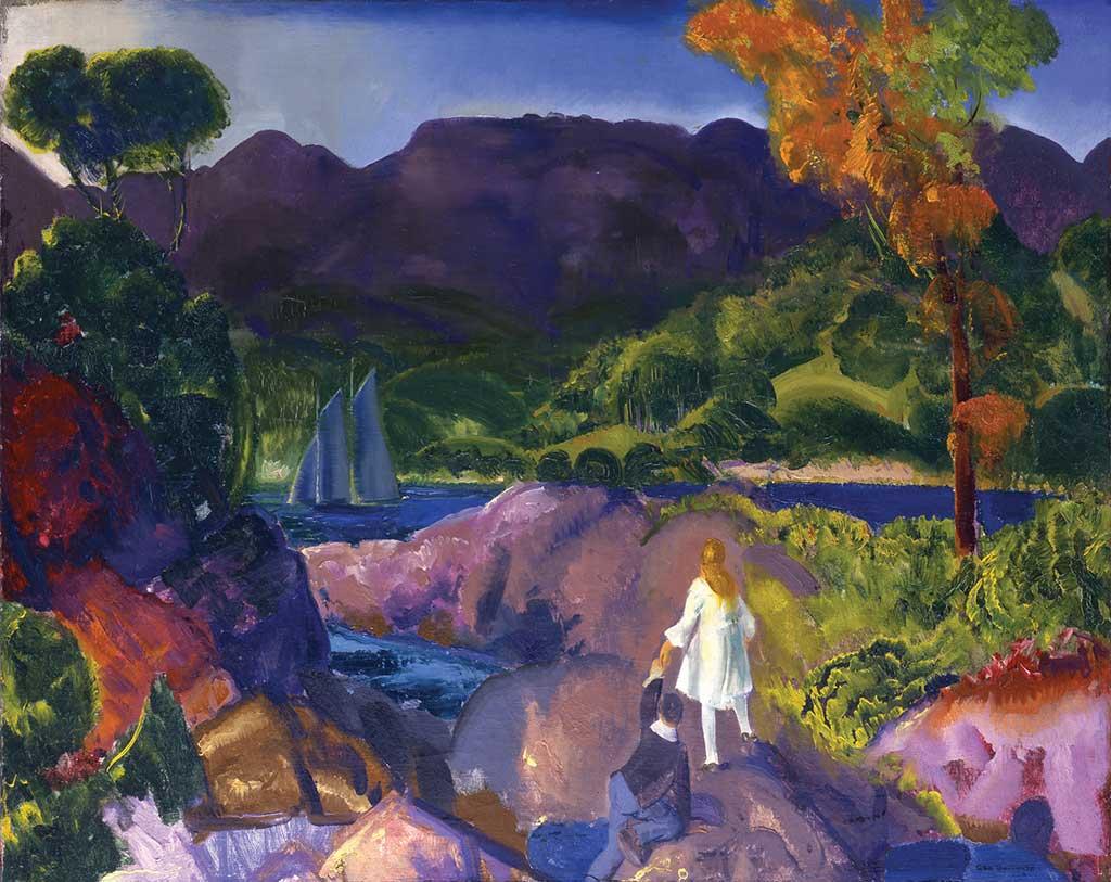 George Bellows (1882-1925) Romance of Autumn, 1916
