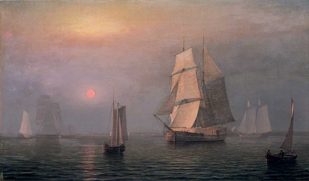 Fitz Henry Lane, Shipping in Downeast Waters