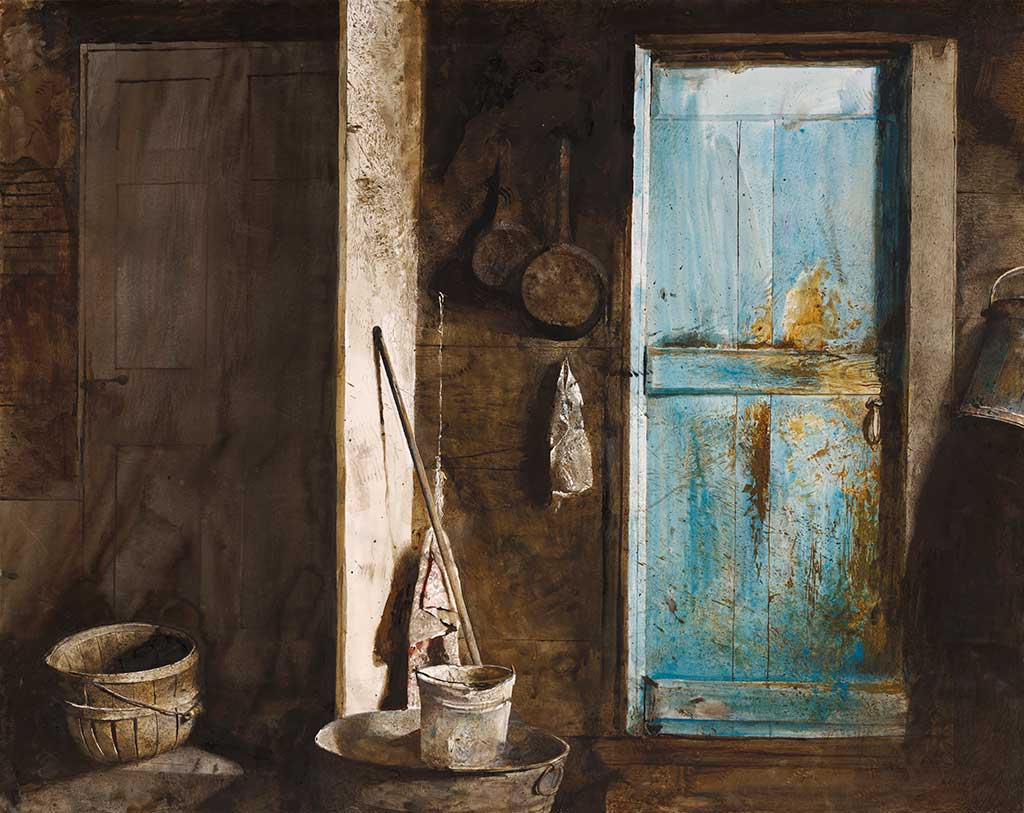 Andrew Wyeth, Alvaro and Christina,
