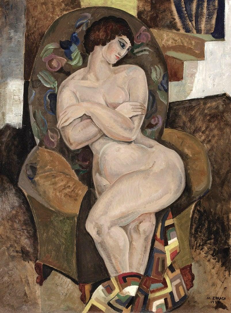 Marguerite Thompson Zorach, Nude