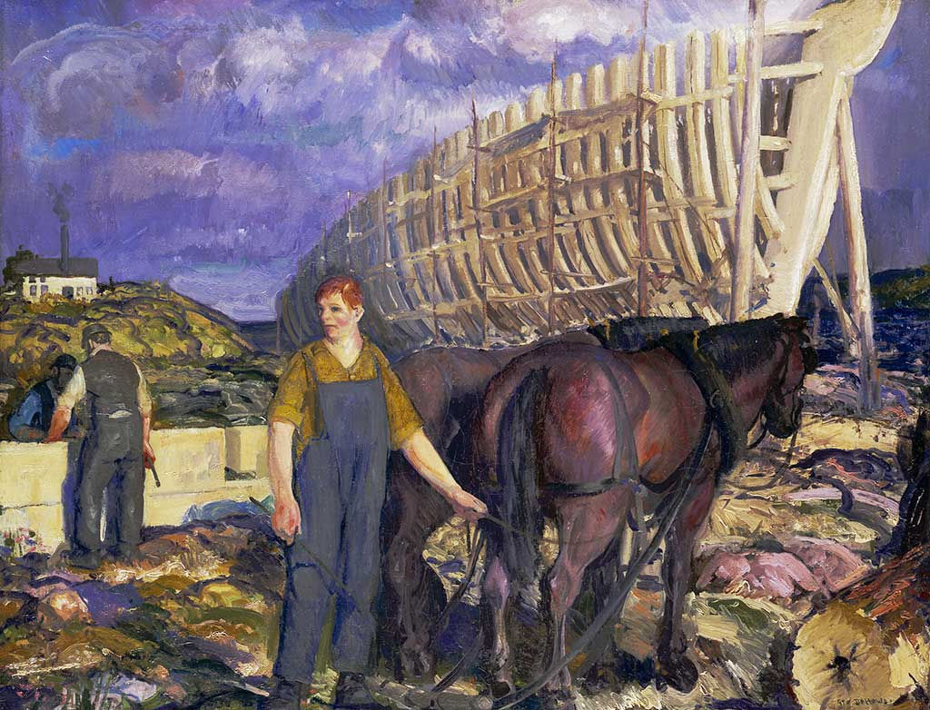 George Bellows, The Teamster, 1916,