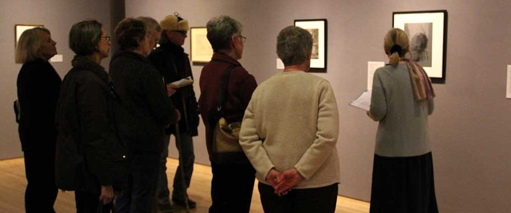 Associate Curator Jane Bianco leads a tour