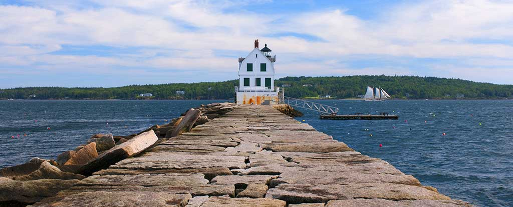 The Rockland Breakwater