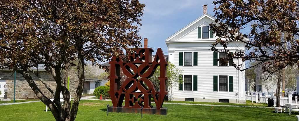 The Farnsworth Homestead in Rockland, Maine