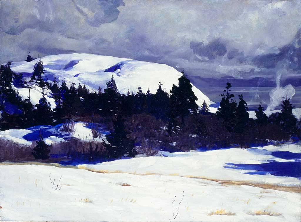 Rockwell Kent, Maine Coast, circa 1907, oil on canvas, Bequest of Mrs. Elizabeth B. Noyce, 1997.3.25
