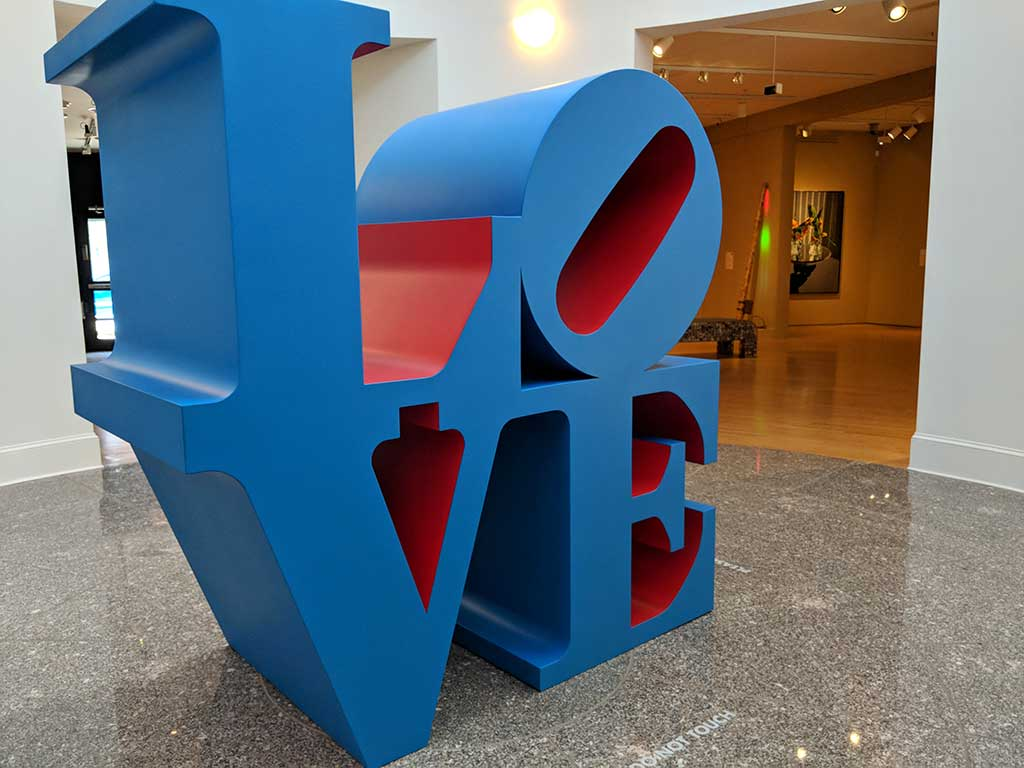Robert Indiana, LOVE, 1996,