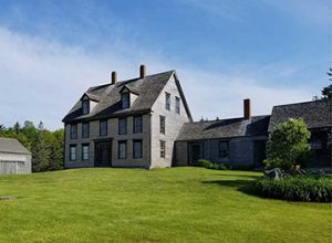 The Farnsworth's Olson House in Cushing, Maine