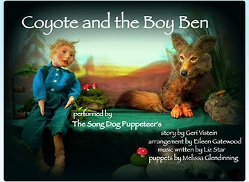 Coyote and the Boy Ben marionette show