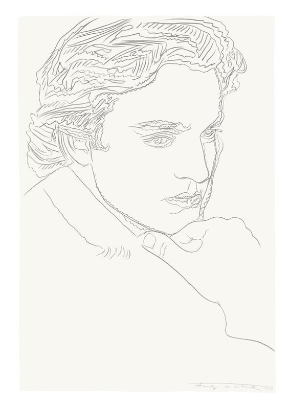 Andy Warhol, Portrait of James Wyeth