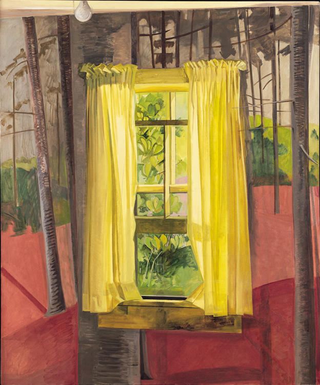 The Painted Room, 1982, oil on linen