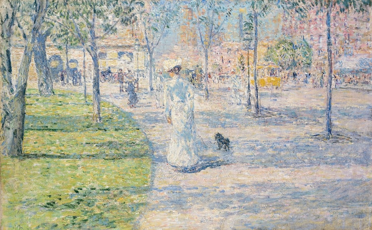 Union Square in Spring, 1900, oil on canvas