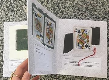 Make an Artist's Book Using Leporello Binding