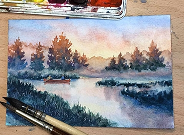Step by Step: Watercolor with Erica Qualey