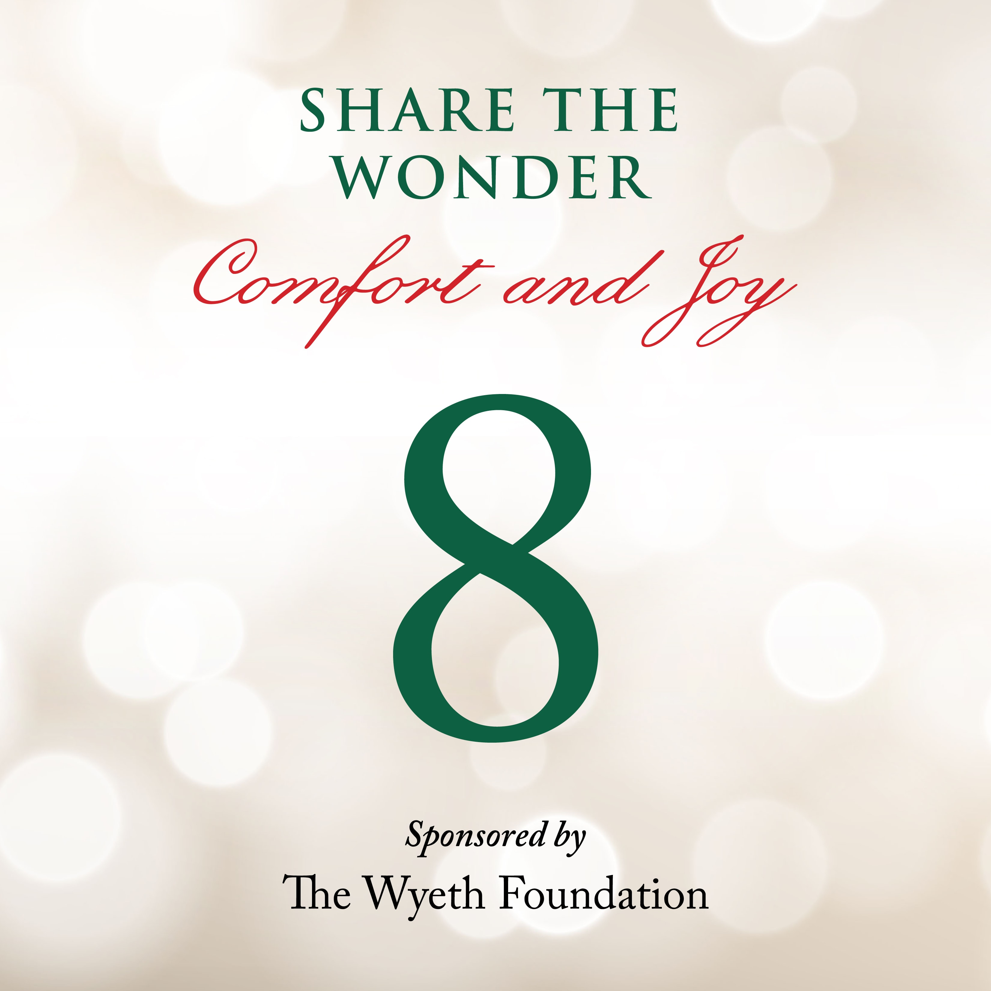 Day 8 of Share the Wonder: December 5