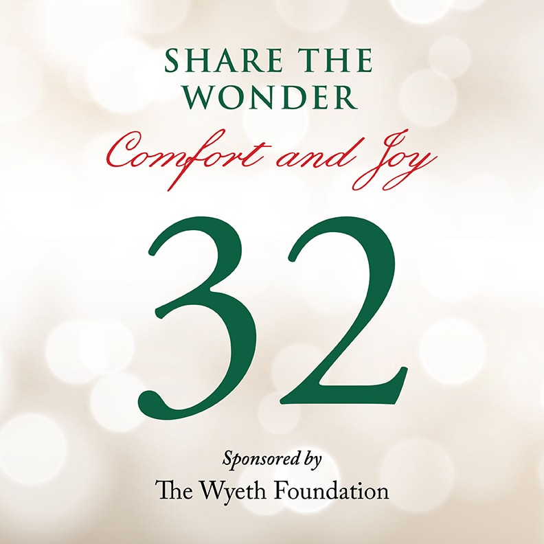 Day 32 of Share the Wonder: December 29