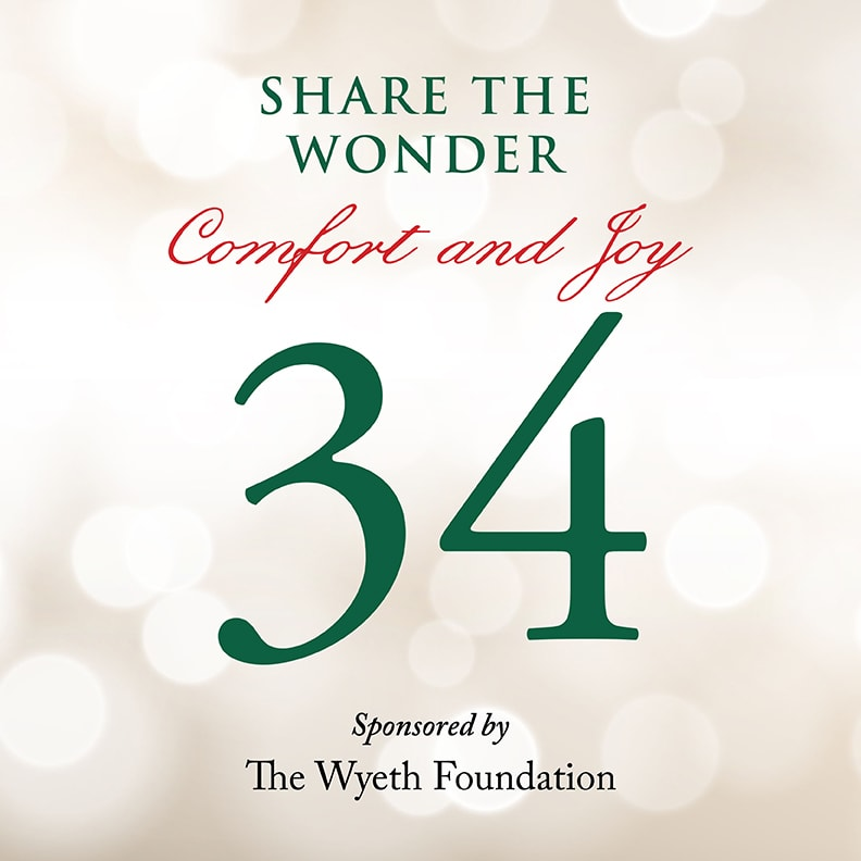 Day 34 of Share the Wonder: December 31