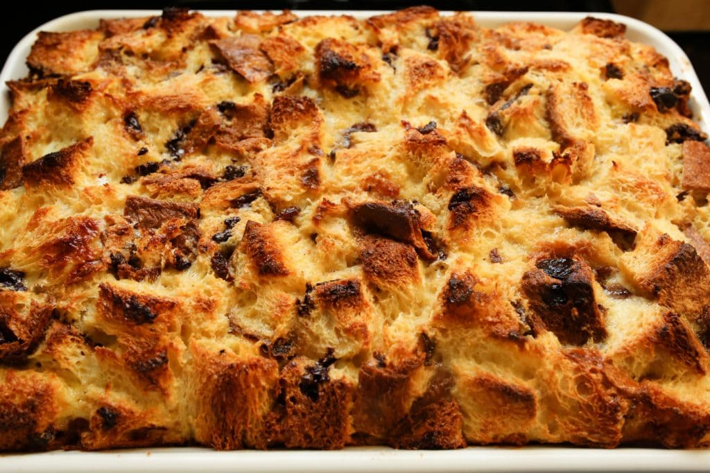 Panettone Bread Pudding, Image courtesy of Through Our Harvest