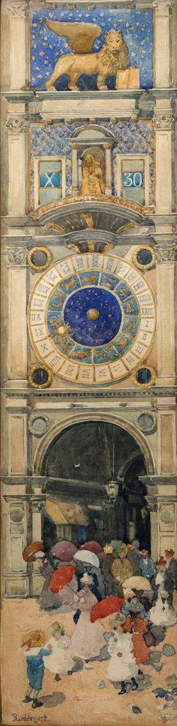 Maurice Predergast, St. Mark's Square, Venice