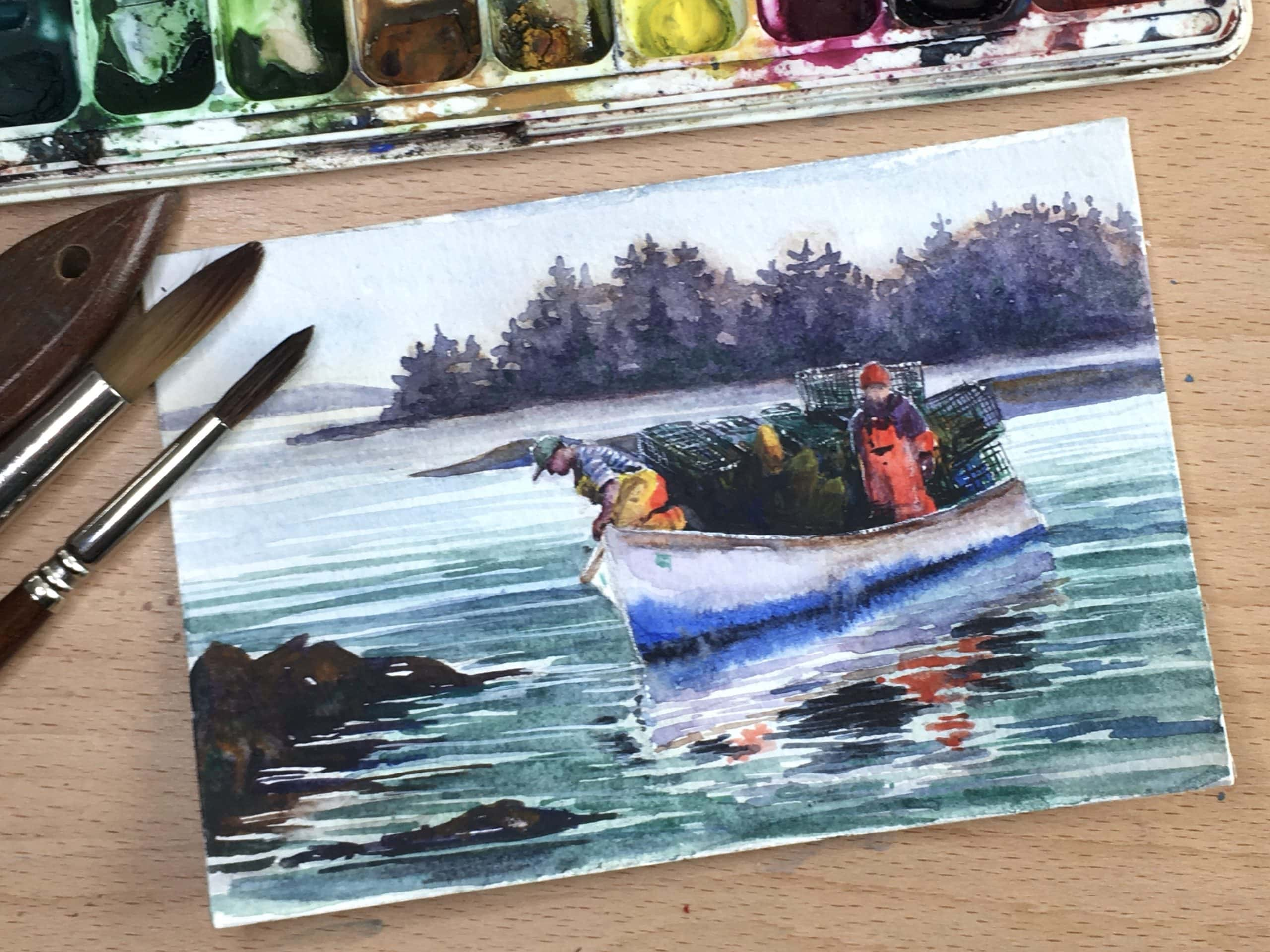 Level 2 Watercolor with Erica Qualey