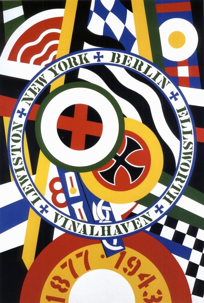 Robert Indiana, The Hartley Elegy Series: The Berlin Series, KvF IV, 1990