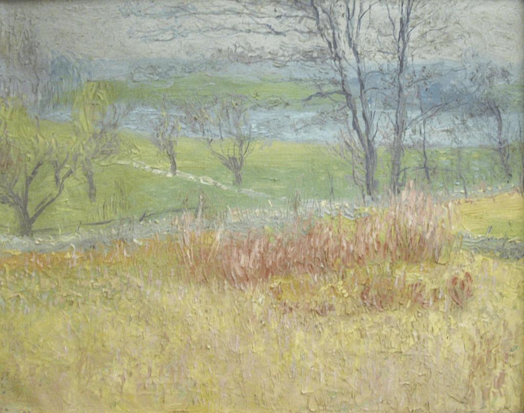 Anson Cross, Basin No. 2, Ashland, Massachusetts, Oil on canvas, 64.1332