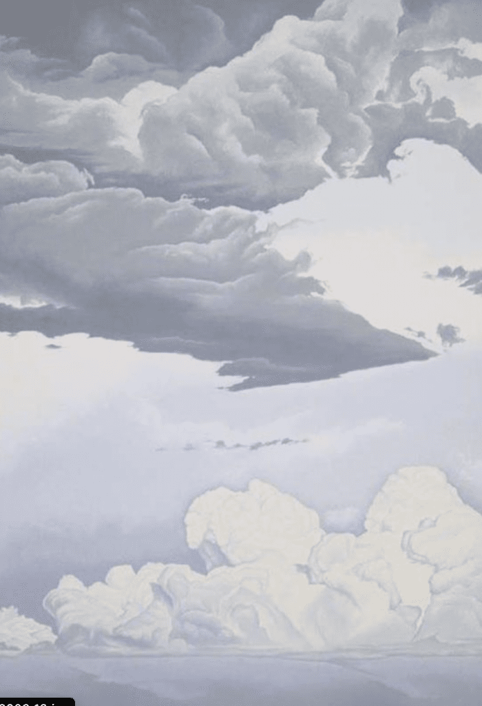 Sean Cavanaugh, Layers in a Storm, 2001, Oil on canvas, Gift of Mr. and Mrs. Stephen Pace, 2003.19