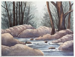 Watercolor by Erica Qualey