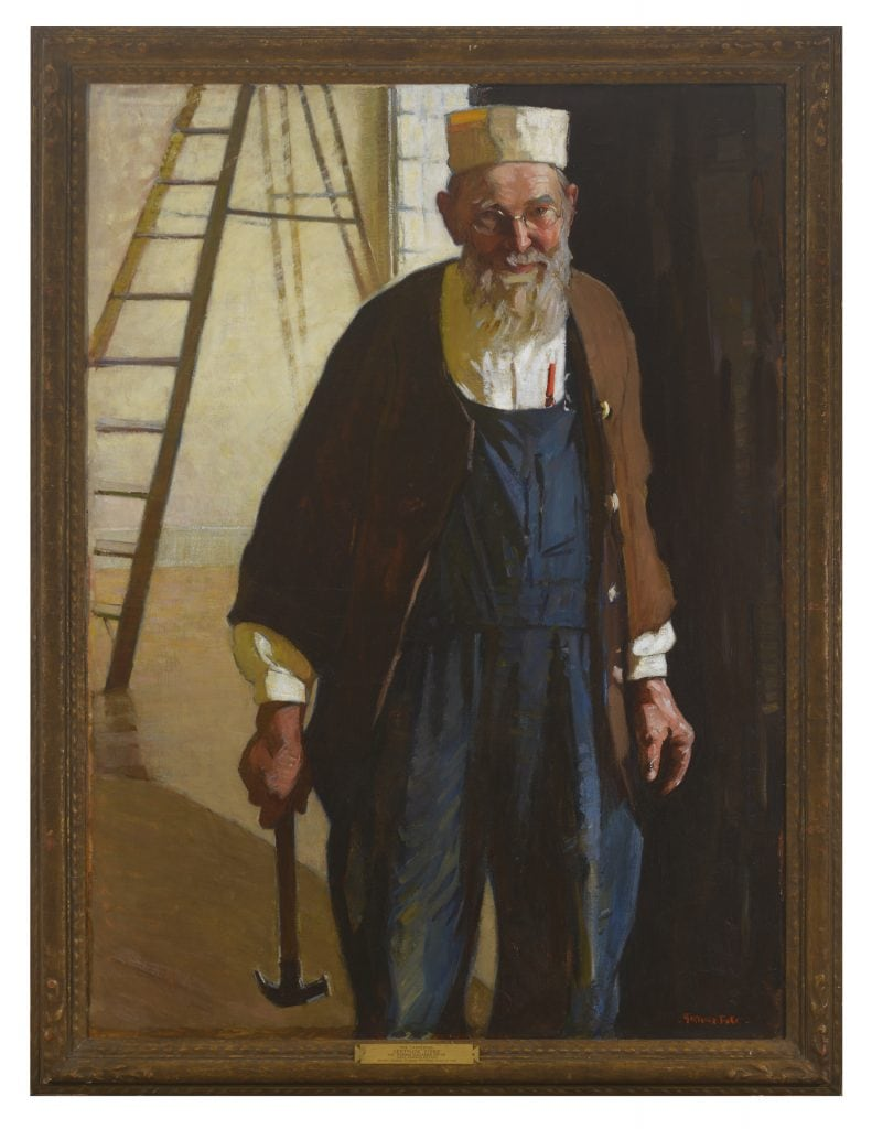 Gertrude Fiske, The Carpenter