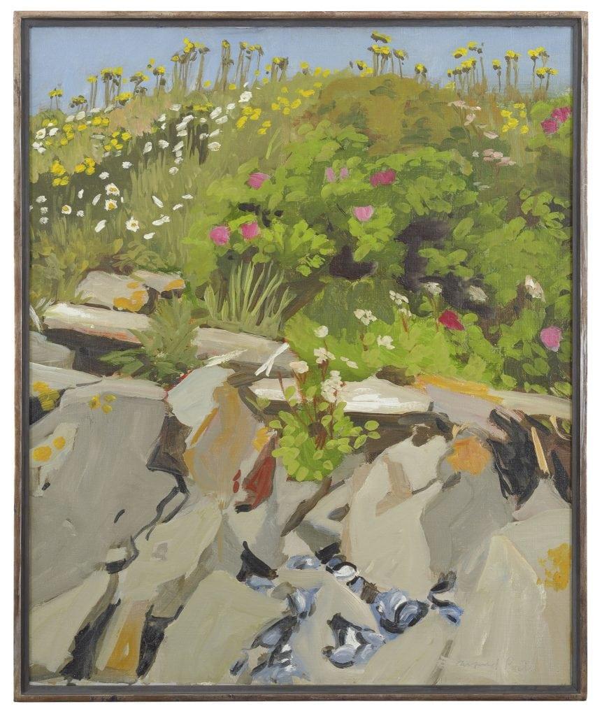 Fairfield Porter, Beach Flowers #2