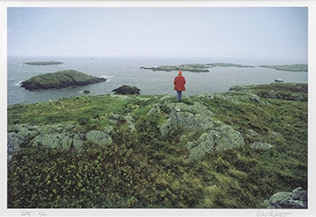 Peter Ralston, Betty, 1991, Iris print, Gift of John and Mary Ames in memory of Elizabeth B. Noyce, 1997.13