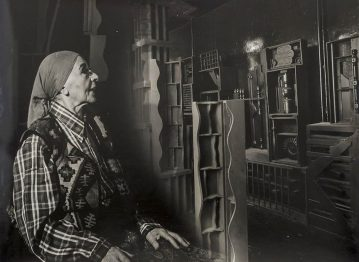 Black and White: Louise Nevelson/Pedro Guerrero