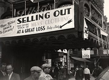 Changing New York: Photographs by Berenice Abbott