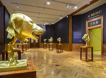 Ai Weiwei | Circle of Animals/Zodiac Heads: Gold