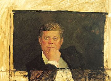 Jamie Wyeth: The Kennedy Studies