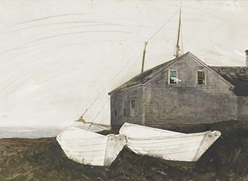 Andrew Wyeth: The Dory