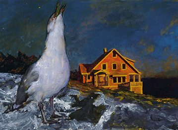 Jamie Wyeth, Rockwell Kent and Monhegan